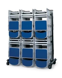 Folding Chair Storage Trolley Hanging Trolley